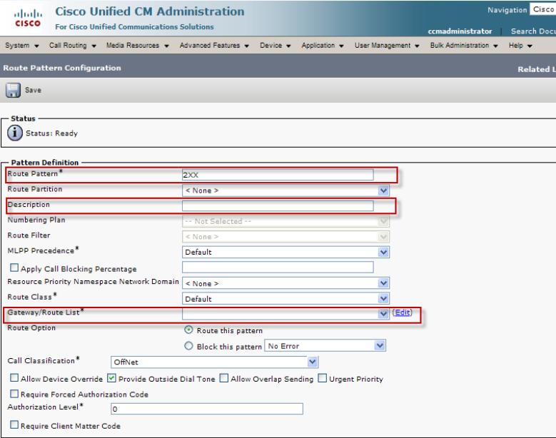 VoiceGuide Connecting to Cisco CallManager
