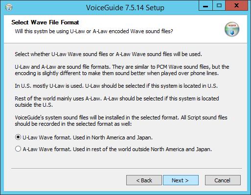 VoiceGuide Configure Dialogic HMP
